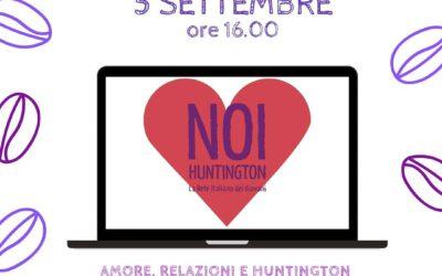 e-Huntington Cafè 5 Settembre 2020