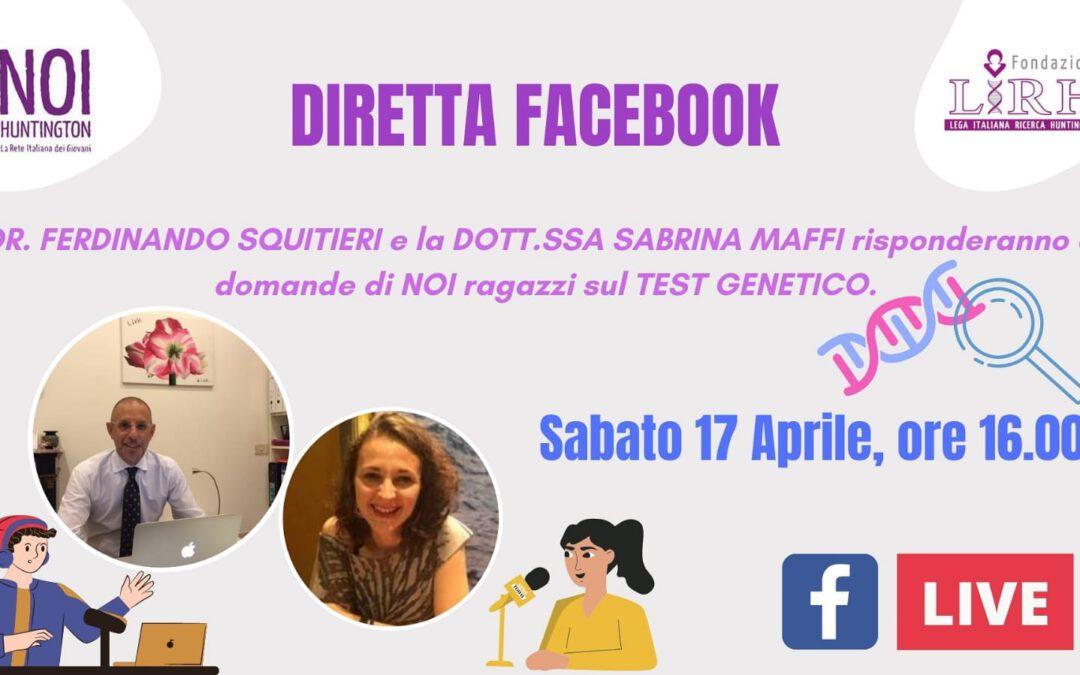 Diretta Facebook – 17 aprile 2021